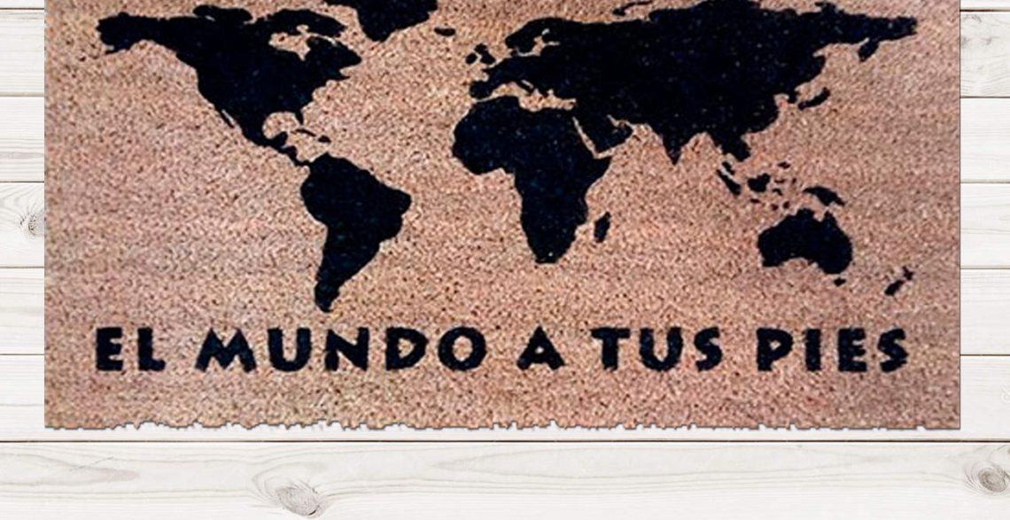 Felpudo El Mundo a tus Pies