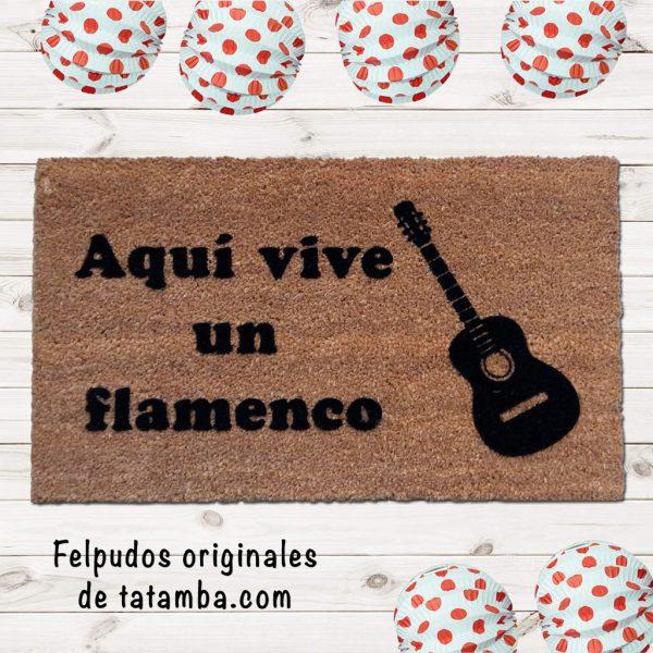 Felpudo Flamenco