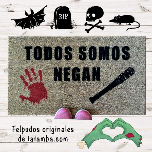 Felpudo Walking Dead Negan