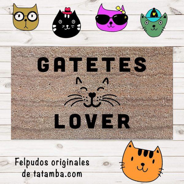 Felpudo Amante de los Gatos